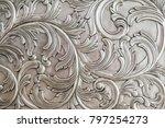 luxurious classic handmade... | Shutterstock . vector #797254273