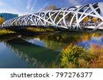 autumn colours around the arve...   Shutterstock . vector #797276377
