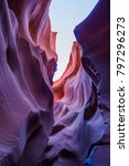 antelope lower canyon | Shutterstock . vector #797296273