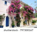 assos city kefalonia | Shutterstock . vector #797300167