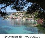 assos city kefalonia | Shutterstock . vector #797300173