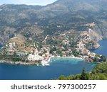assos city kefalonia | Shutterstock . vector #797300257