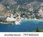 assos city kefalonia | Shutterstock . vector #797300263