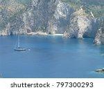 assos city kefalonia | Shutterstock . vector #797300293