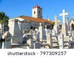 camaguey  cuba   church of the... | Shutterstock . vector #797309257