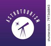astrotourism icon  astro... | Shutterstock .eps vector #797368843