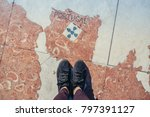 trip to portugal and europe... | Shutterstock . vector #797391127