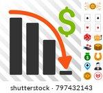 default crisis fail pictograph... | Shutterstock .eps vector #797432143