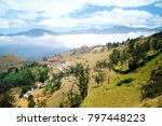 the fertile land of the andes... | Shutterstock . vector #797448223