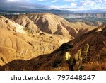 afternoon sun in the andes of... | Shutterstock . vector #797448247