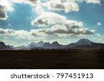 the jordan desert | Shutterstock . vector #797451913