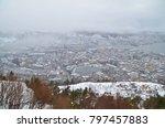 northern europe norway bergen... | Shutterstock . vector #797457883