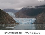 View Of The Sawyer Glacier At...