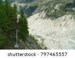 spectacular panorama of mer de... | Shutterstock . vector #797465557
