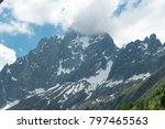spectacular panorama of mer de... | Shutterstock . vector #797465563