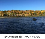 gatineau river _ quebec canada | Shutterstock . vector #797474707