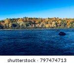 gatineau river  | Shutterstock . vector #797474713
