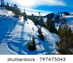 late afternoon on aspen | Shutterstock . vector #797475043