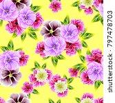 abstract elegance seamless... | Shutterstock . vector #797478703