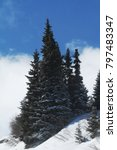 winter landscape  stock image | Shutterstock . vector #797483347