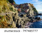 beautiful cinque terre italy | Shutterstock . vector #797485777