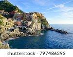 beautiful cinque terre italy | Shutterstock . vector #797486293