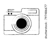 camera photographic isolated...   Shutterstock .eps vector #797486677