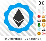 ethereum badge seal pictograph...