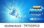 packaging design template for... | Shutterstock .eps vector #797535913