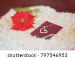 "love present ""neck let"" in a... | Shutterstock . vector #797546953"