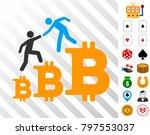 bitcoin business climbing help...