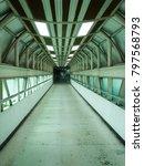 walkway between buildings | Shutterstock . vector #797568793