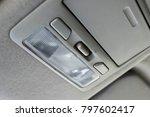 panel of illumination on a car...   Shutterstock . vector #797602417