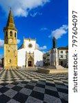 tomar  portugal   december 27 ... | Shutterstock . vector #797604097