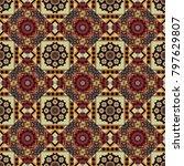 mandala geometric graphic print....   Shutterstock .eps vector #797629807