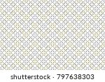colorful striped horizontal... | Shutterstock . vector #797638303