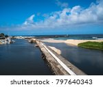 st. gilles les bain  reunion    ... | Shutterstock . vector #797640343