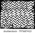 grunge background.vector... | Shutterstock .eps vector #797687413