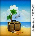 travel illustration | Shutterstock . vector #79773682