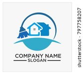 logo  icon and vector for... | Shutterstock .eps vector #797758207