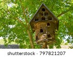 Old Dovecote Made Of Wood And...
