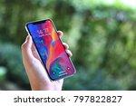 bangkok thailand   iphone x... | Shutterstock . vector #797822827