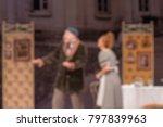 theater play theme creative... | Shutterstock . vector #797839963