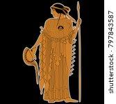 isolated vector illustration of ... | Shutterstock .eps vector #797843587
