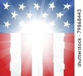 abstract american flag... | Shutterstock .eps vector #79868443