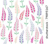 seamless floral pattern... | Shutterstock .eps vector #79895167