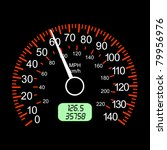 car speedometers for racing... | Shutterstock . vector #79956976