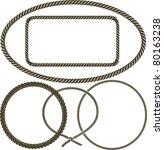 rope | Shutterstock .eps vector #80163238