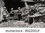 france   circa 1914 1918 ...   Shutterstock . vector #80220019