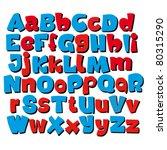 graffiti styled font | Shutterstock .eps vector #80315290